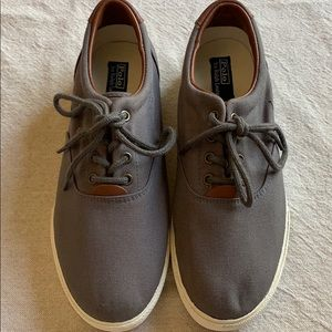 5d127e4d5b Polo by Ralph Lauren Thornton Washed Twill Sneaker